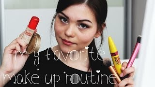 MY FAVORITE make up routine  ♥ Thumbnail