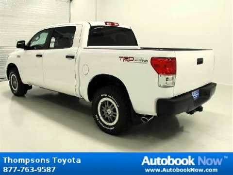 2012 Toyota Tundra Trd Rock Warrior In Placerville Ca For