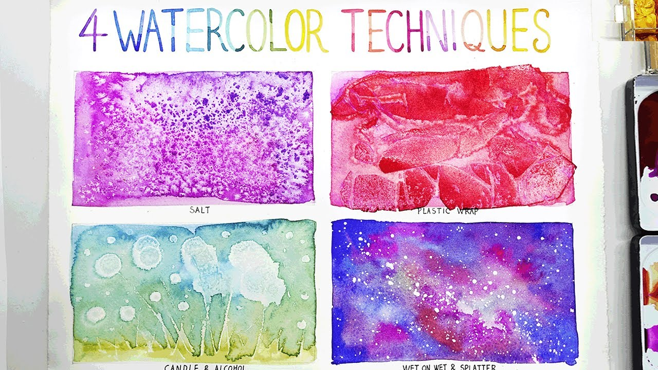 easy watercolor techniques for