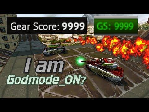 I am Godmode_On?! Max 9999 GS!! + Promocode! | Tanki Online - танки Онлайн