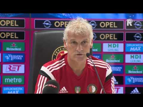De persconferentie van Fred Rutten en Jordy Clasie over Feyenoord - Besiktas
