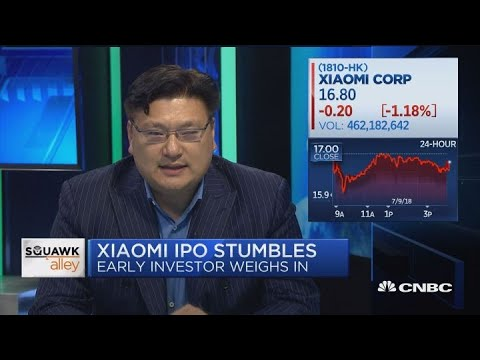 Early Xiaomi investor on IPO