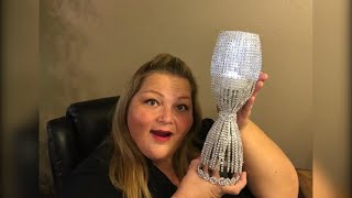 Blinged Out Lamp  - Dollar Tree DIY (re-post)