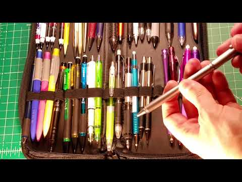 Mechanical Pencil Collection Update Nov 2017 3000 Subs! Part 1