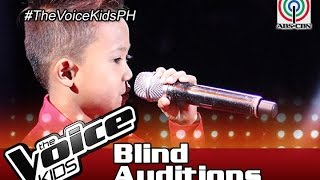 the voice kids philippines 2016 blind auditions if i sing you a love song by bien
