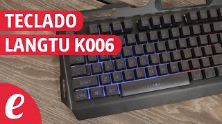 Gaming Keyboard Langtu K006 (español)