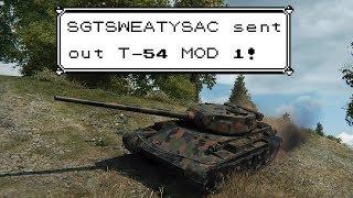 "Viewer spotlight! // T-54 Mod.1 / ""The flavour of success"""
