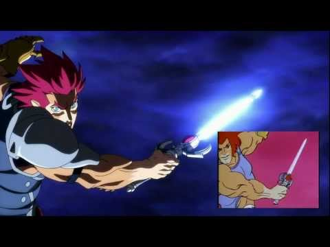 ThunderCats 2011 Opening Montage set to the Original Theme with Comparison