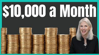 How Much Do I Need To Invest To Make $10,000 A Month