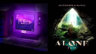 Download Alone Pt. II ✘ Play [Mashup] - Alan Walker, Ava Max, K-391 & Tungevaag (Walker The Fox 126 YT Remix)