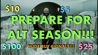 PREPARE FOR ALT SEASON! BUY SIGNALS EVERYWHERE! $30 LINK, $1 ADA and $5 XRP