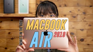 What are the upgrades? | Apple Macbook Air 2019 unboxing