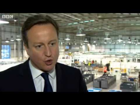 David Cameron on gay marriage in churches