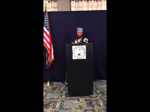 TMOA Press Conference Concerning Terrorist Plot by Robert R. Doggart 5/18/2015