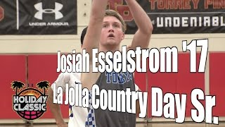 Josiah Esselstrom '17, La Jolla Country Day Senior Year, 2016 UA Holiday Classic