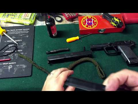 Disassembly and cleaning of HK 45