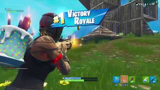 My best Fortnite Win!!! New Redline Skin Gameplay