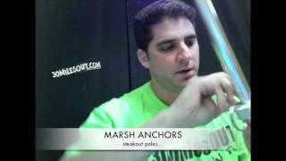 Yak'ntexas- Marsh Anchors / Steakout Poles  Canoe And Kayak Fishing