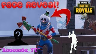 SO WHO IS UNDER ''Slushy Soldier'' FACE REVEAL DOES EPIC REALLY WORK? | FORTNITE BATTLE ROYALE