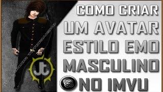 IMVU - Como Criar Avatar estilo emo Masculino com 6,500 Créditos no imvu 2015