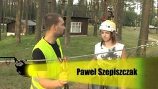Przygoda w parku linowym – Spychowo video