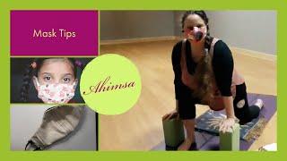 Ahimsa: Wear Your Mask Properly!