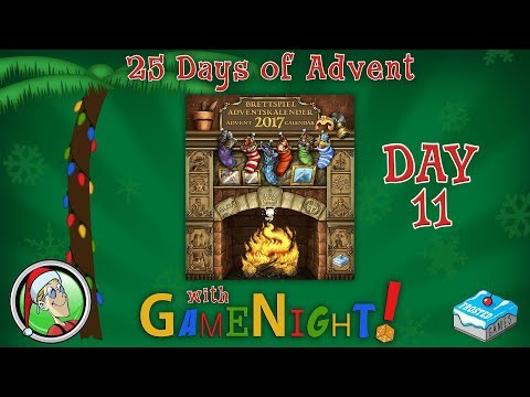 25 Days of Advent with GameNight! - Day 11