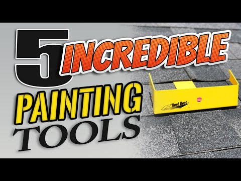 5 Incredible PAINTING Tools.  Amazing Tools For PAINTERS.