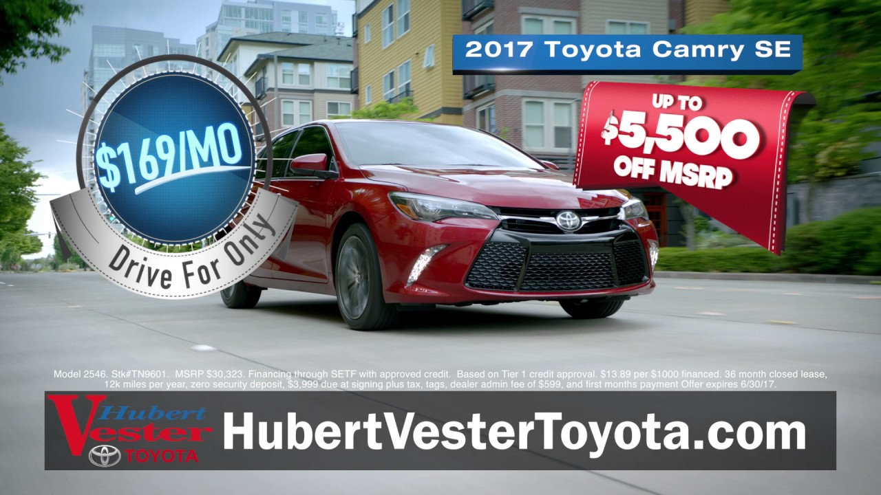 hubert vester toyota it 39 s the summer payment vacation youtube. Black Bedroom Furniture Sets. Home Design Ideas
