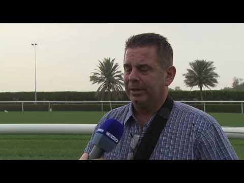 Doug Watson on his 2017 Dubai World Cup team