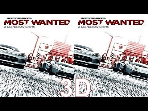 3D VR box TV video Need for Speed™ Most Wanted  Side by Side SBS