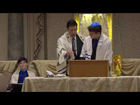 Cameron's Bar Mitzvah Ceremony