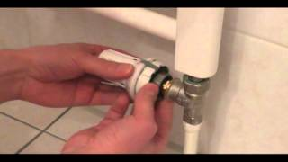 Gut bekannt Heizungstechnik - Heizungsthermostat auswechseln - YouTube CV43