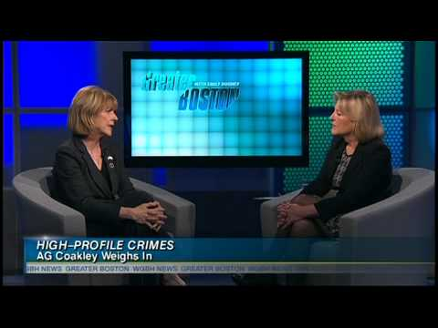 One-On-One With Attorney General Martha Coakley