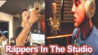 "Rappers In The Studio ""Part 3"" (Lil Mosey, Mac Miller, Meek Mill, Chief Keef, SmokePurpp etc...)"