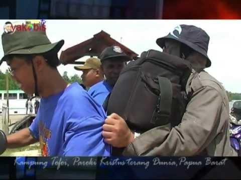 TUHAN PIMPIN ANAK MU.Victor Hutabarat. Perjalanan Misi Rm Gani CM ke Tofoi. Papua
