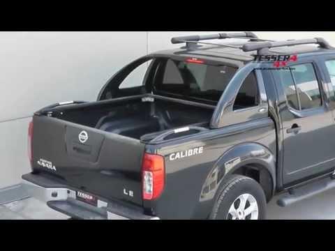 At www.accessories-4x4.com: Nissan Navara D40 unique cover lid 4x4 off road 4wd accessories