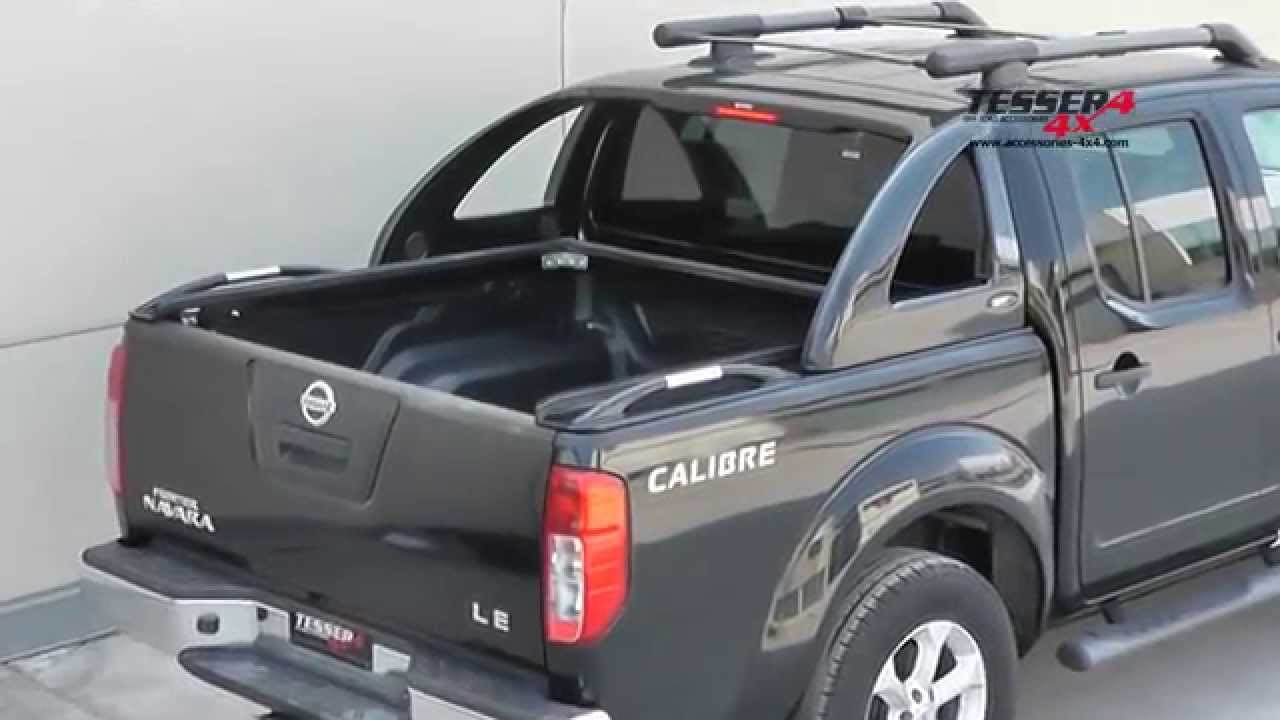At www accessories 4x4 com nissan navara d40 unique cover lid 4x4 off road 4wd accessories youtube