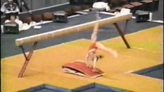 Gymnastics Balance Beam Mount Guide