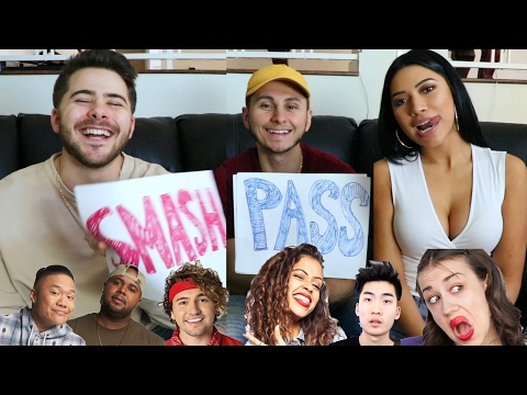 SMASH OR PASS: R EDITION ft. Dominic DeAngelis & Julia Kelly