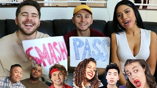 One of DavidAlvareeezy's most viewed videos: SMASH OR PASS: YOUTUBER EDITION (ft. Dominic DeAngelis & Julia Kelly)