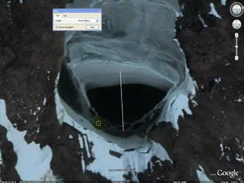 Hollow Earth Entrance #2 - Antarctica