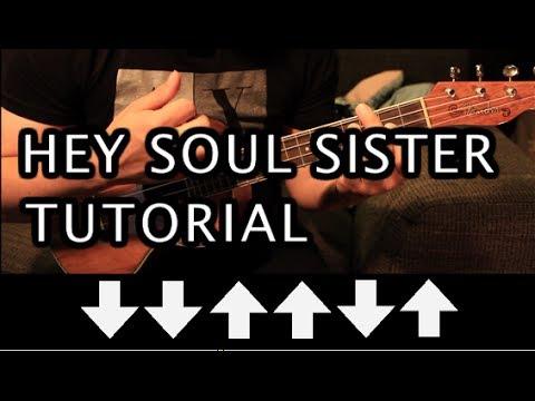 Train Hey Soul Sister Ukulele Cover Youtube