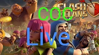 Clash of clans live stream+base review + attacks + much much more