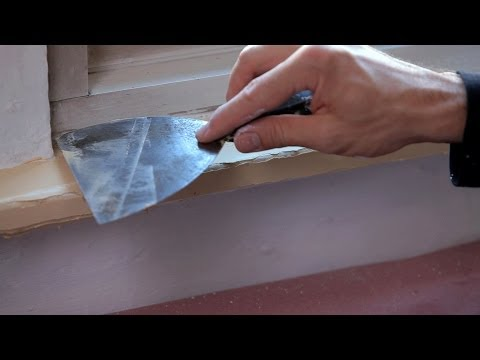 How to Fix Wood Molding | House Painting