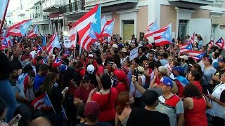 Celebrations in Puerto Rico after governor's resignation, From YouTubeVideos
