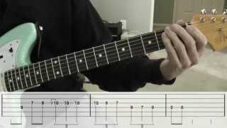 Peter Gunn Theme Guitar Lesson