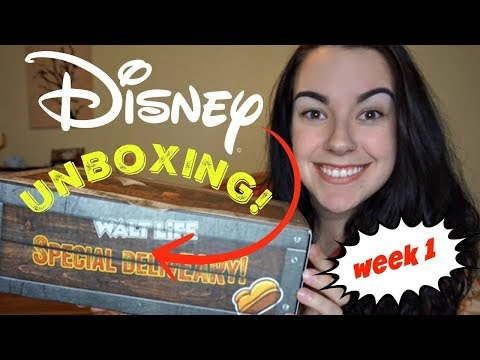 DISNEY SUBSCRIPTION UNBOXING! Week 1 of Mini Series
