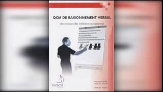 QCM de raisonnement verbal des concours des institutions européennes de Emmanuel Hetru et Jean Luc B