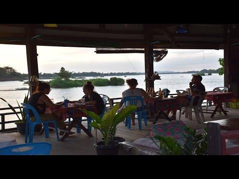 เลาะเที่ยวลาวใต้ EP12.พระอาทิตย์ตกดิน บ้านดอนเดด เกาะกลางแม่น้ำโขงสี่พันดอน